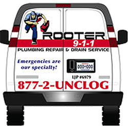 rooter 9-1-1 Truck